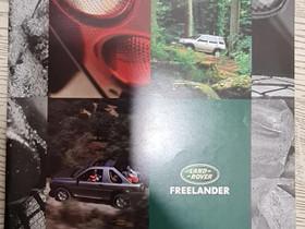 Land Rover Freelander -esite 1998, Harrastekirjat, Kirjat ja lehdet, Lappeenranta, Tori.fi