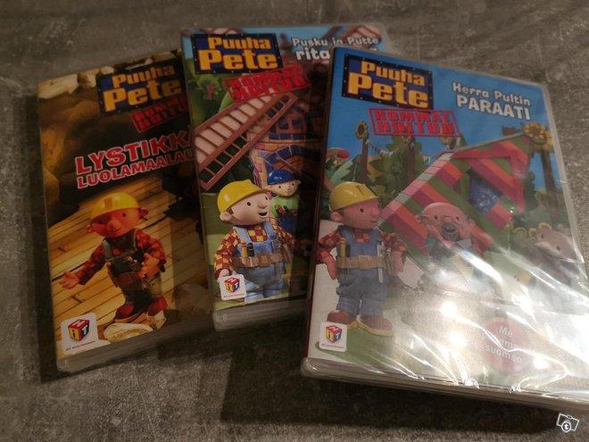 Uudet puuha Pete dvd:t 3 kpl