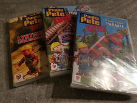 Uudet puuha Pete dvd:t 3 kpl, Lelut ja pelit, Lastentarvikkeet ja lelut, Vaasa, Tori.fi