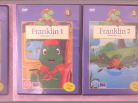 Franklin 1 ja 2 lasten dvd:t, Imatra/posti, Elokuvat, Imatra, Tori.fi