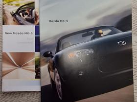 Mazda MX-5 -esitteet, Harrastekirjat, Kirjat ja lehdet, Lappeenranta, Tori.fi