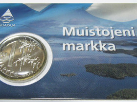 Muistojeni Markka Uusi posti 2e/nouto, Rahat ja mitalit, Keräily, Tampere, Tori.fi
