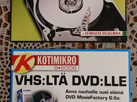 Kotimikro dvd, avaamattomat, Muu tietotekniikka, Tietokoneet ja lisälaitteet, Vehmaa, Tori.fi