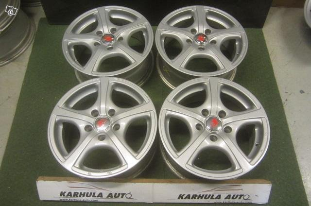 5x112 R15 66,6 alumiini vanteet