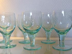 6 kpl vanhoja viinilaseja, Kahvikupit, mukit ja lasit, Keittiötarvikkeet ja astiat, Eura, Tori.fi
