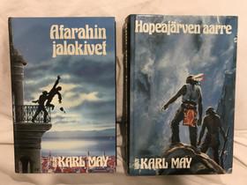 Karl May: Afarahin jalokivet / Hopeajärven aarre, Kaunokirjallisuus, Kirjat ja lehdet, Espoo, Tori.fi