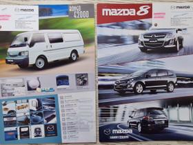 Mazda 8 & Mazda Bongo E2000 -esitteet, Harrastekirjat, Kirjat ja lehdet, Lappeenranta, Tori.fi