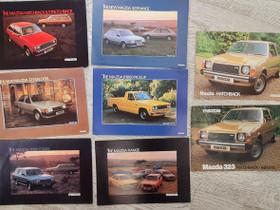 Vanhoja Mazda-esitteitä 1979-1981, Harrastekirjat, Kirjat ja lehdet, Lappeenranta, Tori.fi