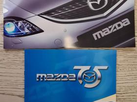 Mazda 75-vuotisjuhlaesite & Mazda yleisesite, Harrastekirjat, Kirjat ja lehdet, Lappeenranta, Tori.fi