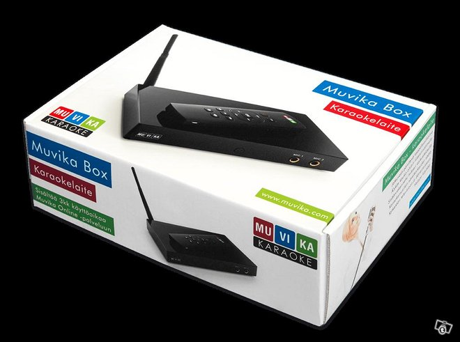 Muvika Online Karaoke Box + mikrofonit