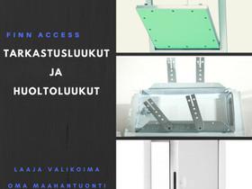Tarkastusluukut,Paloluukut EI30 ja Hiussaumaluukut, Liikkeille ja yrityksille, Oulu, Tori.fi