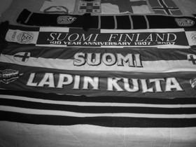 Jalkapallon kannatushuiveja, lippuja, Jalkapallo, Urheilu ja ulkoilu, Helsinki, Tori.fi