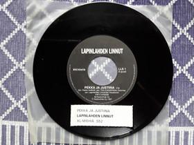 """Lapinlahden linnut 7"""" Pekka ja Justiina /XL-miehiä, Musiikki CD, DVD ja äänitteet, Musiikki ja soittimet, Rovaniemi, Tori.fi"""