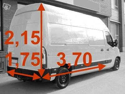 Pakettiauton vuokraus Tampere, kuva 1