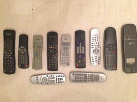 TV-, video-, digiboksi -kaukosäätimet (eri merkit), Muu viihde-elektroniikka, Viihde-elektroniikka, Helsinki, Tori.fi