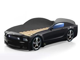 Autosänky lasten Mebelev Mustang Plus musta, Sängyt ja makuuhuone, Sisustus ja huonekalut, Pieksämäki, Tori.fi
