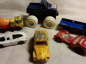 Pikkuautoja 5+1, vanhoja, Muu keräily, Keräily, Nokia, Tori.fi