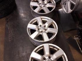 "Nissan aluvanteet 6,5x17"" 5x114,3 et45 kr66,1mm, Renkaat ja vanteet, Raahe, Tori.fi"