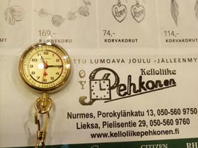 Sairaanhoitajan kello, Kellot ja korut, Asusteet ja kellot, Nurmes, Tori.fi