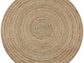 VidaXL Pyöreä matto 120 cm punottu 245337, Matot ja tekstiilit, Sisustus ja huonekalut, Helsinki, Tori.fi