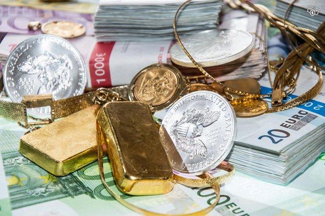 Kultarahaksi, Hopearahaksi, Korut rahaksi