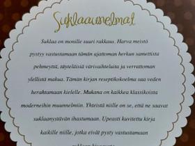 Suklaaunelmat kirja, Harrastekirjat, Kirjat ja lehdet, Pirkkala, Tori.fi