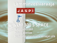 Vedenlämmitin Jäspi VLM 300 S space- uusi