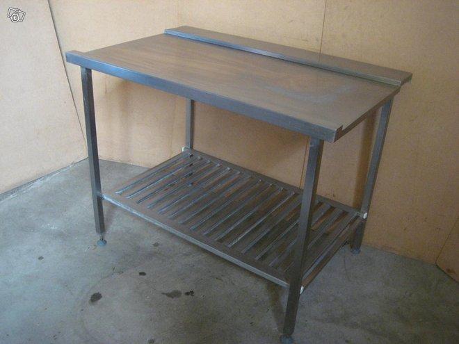 Rst-pöytä / purkauspöytä