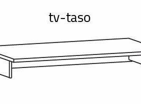 Tv-koroke L 80 x S 41 x K 13,5cm, Hyllyt ja säilytys, Sisustus ja huonekalut, Mänttä-Vilppula, Tori.fi