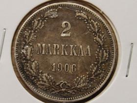2 Markkaa 1906 Hopeaa, Rahat ja mitalit, Keräily, Vantaa, Tori.fi
