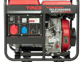 Timco TCLE5500SDG 400V diesel generaattori, Muut koneet ja tarvikkeet, Työkoneet ja kalusto, Harjavalta, Tori.fi