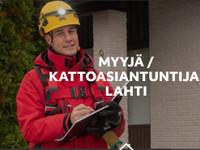 Myyjä / kattoasiantuntija Päijät-Hämeeseen