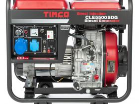 Timco CLE5500SDG 230V diesel generaattori, Muut koneet ja tarvikkeet, Työkoneet ja kalusto, Harjavalta, Tori.fi