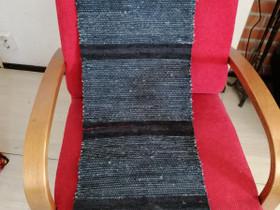 Musta-siniharm. POPPANALIINA, 34 x 120 cm, käsityö, Matot ja tekstiilit, Sisustus ja huonekalut, Savonlinna, Tori.fi