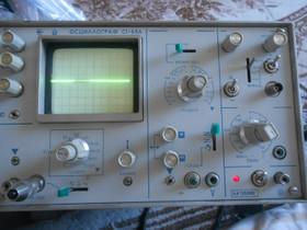 Oskilloskooppi C1-65A, Made In USSR. Toimii, Muu viihde-elektroniikka, Viihde-elektroniikka, Helsinki, Tori.fi