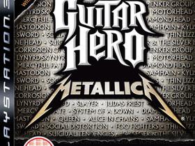 Guitar Hero Metallica PS3, Pelikonsolit ja pelaaminen, Viihde-elektroniikka, Lahti, Tori.fi