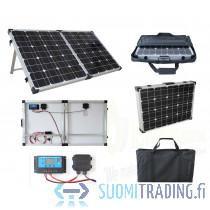 Brightsolar taittuvat aurinkopaneeli paketit, Sähkötarvikkeet, Rakennustarvikkeet ja työkalut, Imatra, Tori.fi