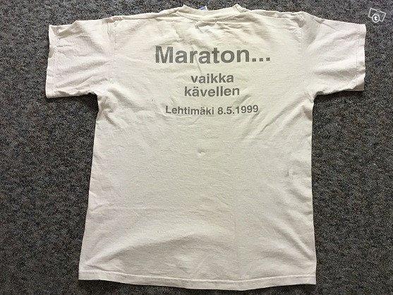 Maraton paita v. 1999