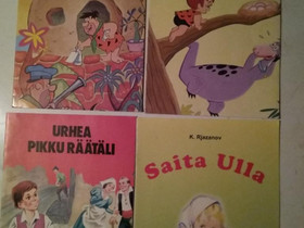Retro Satu-kirjoja 2, Lastenkirjat, Kirjat ja lehdet, Kajaani, Tori.fi