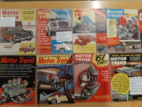 Motor Trend Lehtiä 1957-1962, Autovaraosat, Auton varaosat ja tarvikkeet, Sipoo, Tori.fi