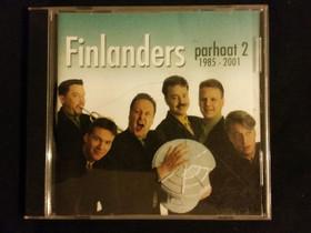 CD-levy Finlanders parhaat 2, Musiikki CD, DVD ja äänitteet, Musiikki ja soittimet, Helsinki, Tori.fi