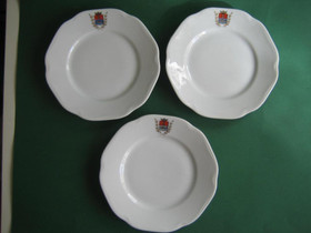 Kemi vaakuna lautaset 3 kpl, Tarjoiluastiat, Keittiötarvikkeet ja astiat, Keminmaa, Tori.fi