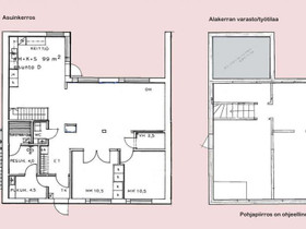 3-4h+k+s+at rivitaloasunto Pyynpäässä 99+50 m2, Myytävät asunnot, Asunnot, Rauma, Tori.fi