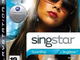 SingStar SuomiPop PS3, Pelikonsolit ja pelaaminen, Viihde-elektroniikka, Lahti, Tori.fi