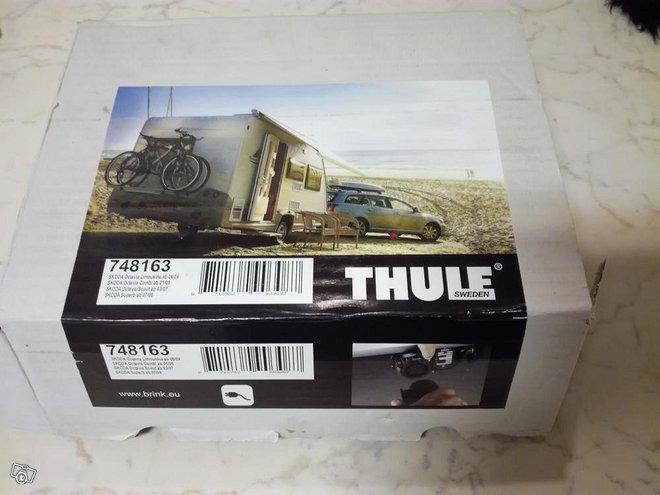Skodan vetokoukun sähkösarja uusi, Thule 748163