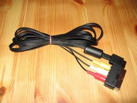 Sony Ps1 Ps2 pleikkari RCA-johdot AV-johdot, Pelikonsolit ja pelaaminen, Viihde-elektroniikka, Himanka, Tori.fi