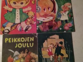 Retro Satu-kirjoja 4, Lastenkirjat, Kirjat ja lehdet, Kajaani, Tori.fi