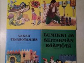 Retro Satu-kirjoja 3, Lastenkirjat, Kirjat ja lehdet, Kajaani, Tori.fi
