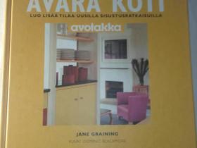 Avara koti - Jane Graining, Harrastekirjat, Kirjat ja lehdet, Loppi, Tori.fi