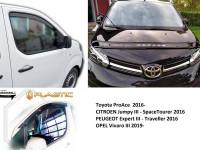Toyota ProAce, CITROEN Jumpy, PEUGEOT Expert